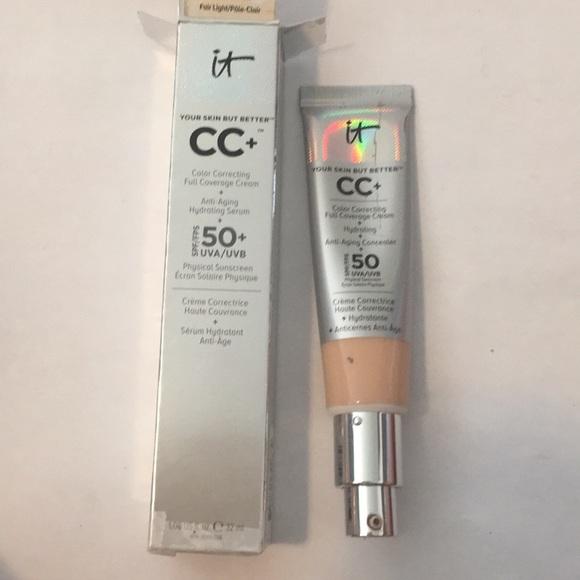 it cosmetics Other - It cosmetic cc cream